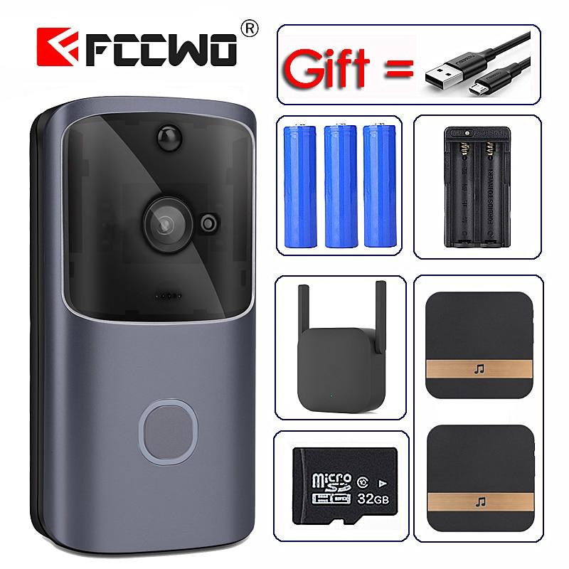 Новый M10 WIFI дверной звонок умный IP видеодомофон дверной звонок камера для квартиры ИК сигнализация беспроводная камера безопасности|Дверной звонок|   | АлиЭкспресс