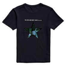 Clothing Goldfish Mens Geek Normal Fit The Jesus and Mary Chain T Shirt 2494(China)