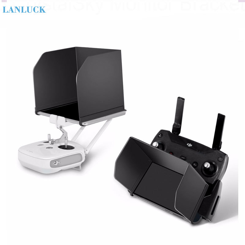 Remote Controller Phone Sun Shade Tablet Monitor Hood for DJI Mavic Air2 Pro MINI Mavic 2 Zoom Spark Phantom 3 4 Drone Accessory
