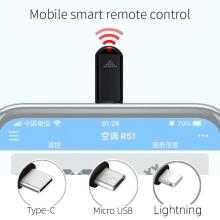 Беспроводной инфракрасный пульт дистанционного управления Высокая совместимость управление мобильным телефоном передатчик адаптер управления Лер для Smart tv Box
