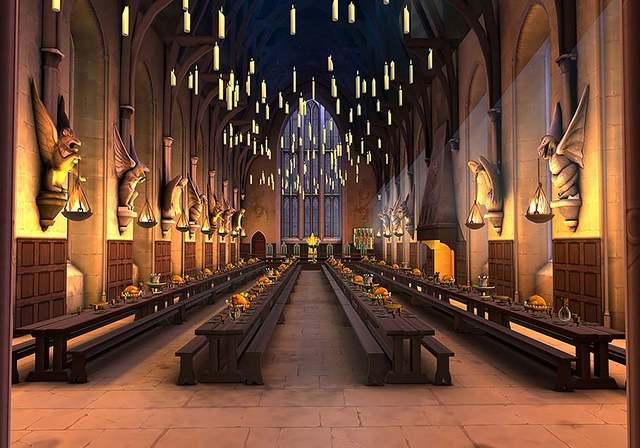 Custom Harry Magic School Hogwarts Castle Dinner Backdrop Birthday