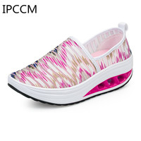 2019 Spring Trend New Sports Mesh Breathable Refreshing Casual Wild Soft Comfortable Elegant Deodorant Women's Shoes