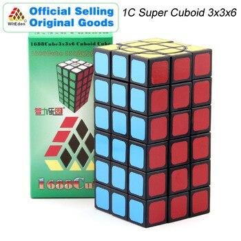 WitEden 1C Super Cuboid 3x3x6:00 01 Magic Cube 1688Cube 336 Speed Twisty Puzzle Brain Teasers Educational Toys For Children super brain