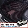 Автомобильные коврики для Honda CR-V CRV RW 5th Gen 2017 2018 2019 автомобильные аксессуары для интерьера кожаные ковры водонепроницаемые ковры