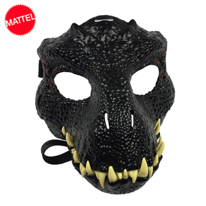 Mattel Original Jurassic World Dinosaur Mask Toy Realistic One Piece Halloween Cosplay Party Props Costumes Adults Toys for Boy(China)