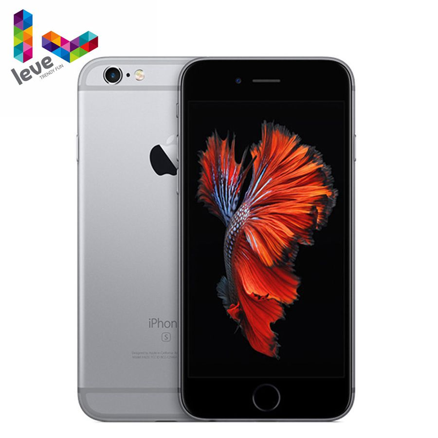 "Verwendet Apple iPhone 6s 4,7 ""2 GB RAM 16 & 32 & 64 & 128GB ROM Dual -Core IOS 12MP Fingerprint Anerkennung 4G LTE Entsperrt Smartphone"