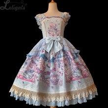 Miss Cat & Mr. Fox ~ Sweet Printed Lolita JSK Dress by Infanta
