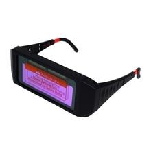 Новые автоматические Фотоэлектрические сварочные очки Солнечные Авто затемняющие сварочные маски шлем защитные очки сварочное стекло