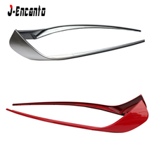 CLA-W117 Sports Car Front Lip Splitters Wing Spoiler For Benz W117 CLA180 Air Flow Vent 2-pcs ABS 2013-2015