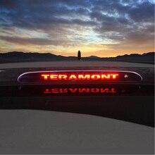 Автомобильные тормозные огни декоративная крышка для Volkswagen Teramont высокое крепление стоп-лампы наклейки модифицированные аксессуары