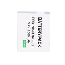цена на 10 Pcs/Lot wholesale battery Original NB-6L NB6L NB 6LH 6L For Canon IXUS 310 SX240 SX275 SX280 SX510 HS 95 210 300 S90 S95