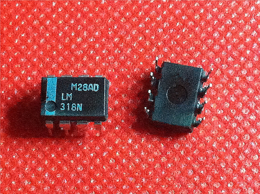 10pcs/lot LM318P LM318N LM318 DIP-8 In Stock