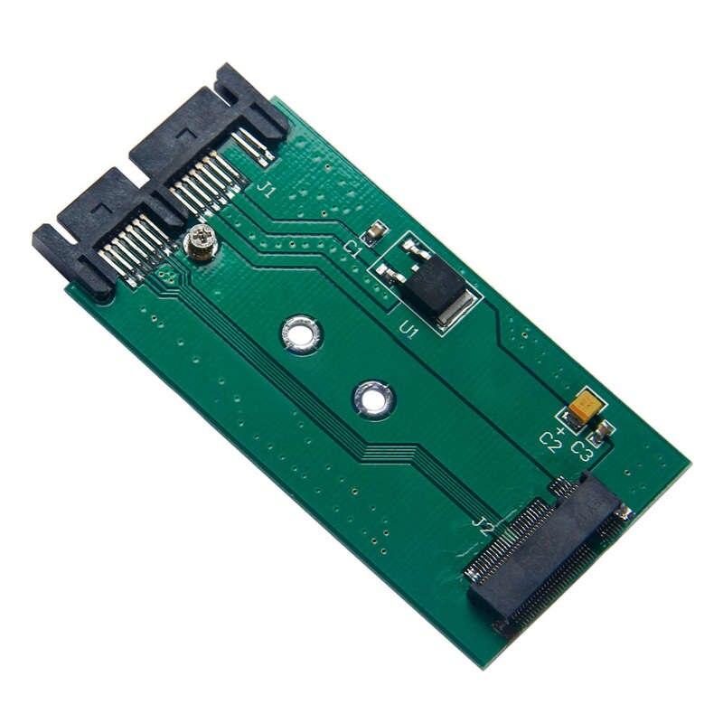 B Key M.2 Ngff Ssd To 1.8 Micro- Sata Adapter Card 7+ 9 16 Pin