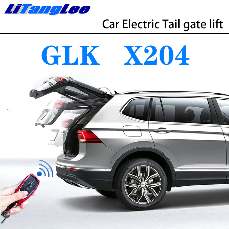 LiTangLee Car Electric Tail Gate Lift Trunk Rear Door Assist System For Mercedes Benz MB GLK Class X204 2008~2016 Remote Control