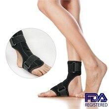 Adjustable Drop Foot Brace Orthosis Plantar Fasciitis Dorsal Splint Sup