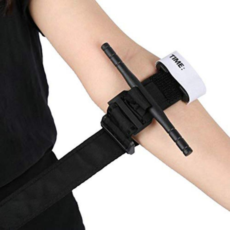 Outdoor First Aid Tourniquet Buckle Medical Military Tactical Tourniquet One-Handed Spinning Tourniquet