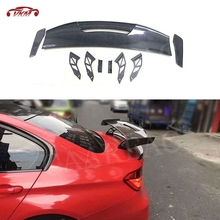 Details about  /Flat Black 384R Type Rear Roof Spoiler Wing For 2012~2015 BMW 7-Series F01 Sedan