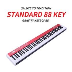 Hoge kwaliteit 88 sleutel professionele usb MIDI digitale elektronische Controller keyboard piano voor musical biginner band leren piano