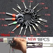 Инструменты Соединительный сплиттер соединитель автомобильная электрическая проводка металлический цветной штекер ключ контактный экстрактор комплект Инструменты для удаления терминала
