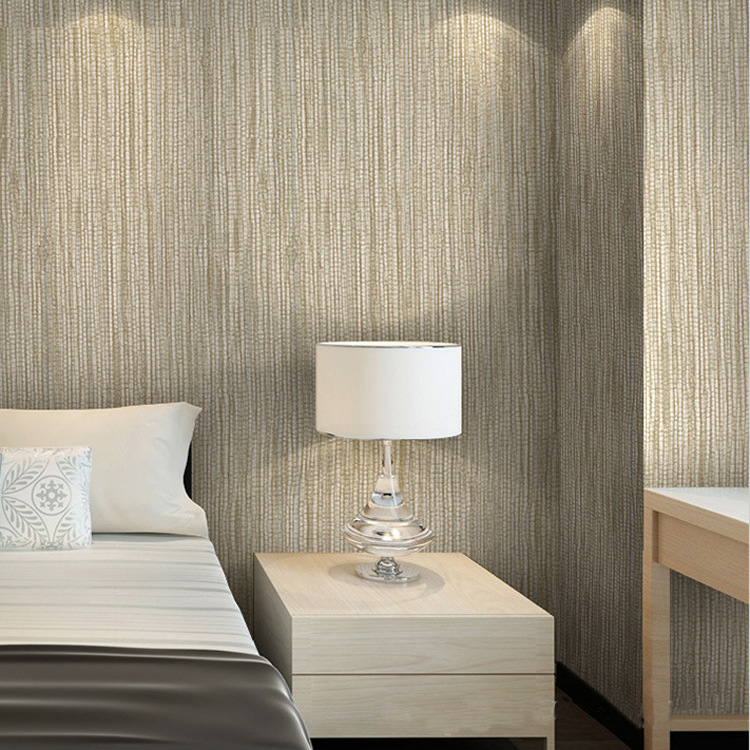 Plain Color Faux Straw Texture Hotel Engineering For Wallpaper Special Offer Flax Pattern Bedroom Living Room Office Wallpaper