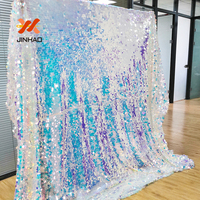 2019 The Hot Sale Wedding Decoration Backdrop Sequin Background Fabric Backdrops For Weddings