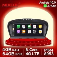 4G Lte 4G + 64G Ips Screen Android 10.0 Auto Radio Gps Voor Bmw 5 Serie E60 e61 E63 E64 E90 E91 Ccc Cic Glonass Navigatie Geen Dvd