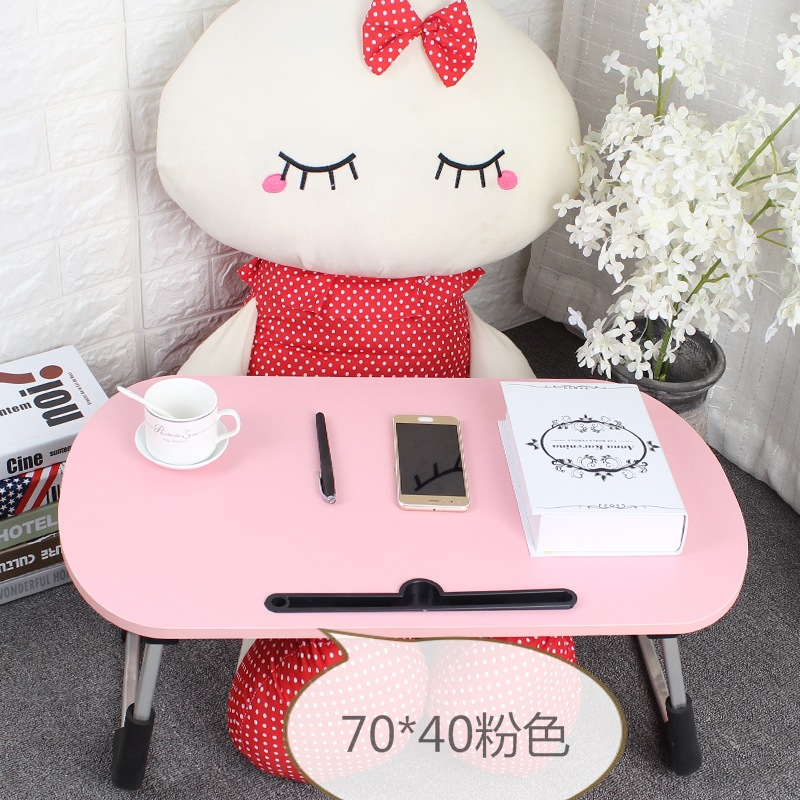 Simple Fashion Laptop Table Bed Desk Folding Table Study Table Kang Table