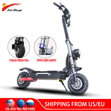 60V 3200W Electric Scooter 11inch Dual Motor Escooter with Battery 80KM/H Foldable 11inch Off-Road Wheel Electric Skateboard