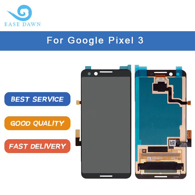 For Google Pixel 3  LCD OLED DISPLAY OLED Screen Touch Panel Digitizer Assembly For Google Display Original