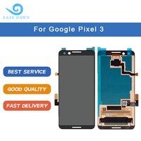 Para o google pixel 3 lcd oled display tela painel de toque digitador assembléia para google display original
