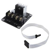 2 шт. Удлинительный Кабель-адаптер гибкий удлинитель Горячая кровать MOSFET расширение Modulefor Micro-SD для TF карты для Monoprice выберите мини