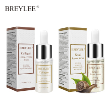 BREYLEE Snail Face Serum Repairing Collagen Serum Lifting Firming Essence Hyaluronic Acid Moisturizing Anti-Aging Face Skin Care