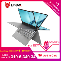 BMAX Y11 Laptop 11.6 Inch Intel Gemini Lake N4100 1920*1080 Intel HD Graphics 600 8GB RAM 256GB ROM SSD DDR4 Ultra Thin Notebook