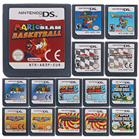 For Nintendo DS 2DS 3DS Video Game Cartridge Console Card Mari Series EU/US Version