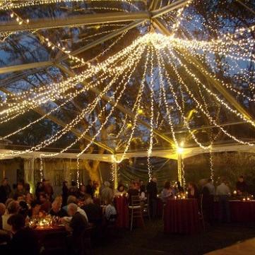 5pcs 50m 400led LED String Light Wedding Party Christmas Tree decoration Waterproof Outdoor Indoor AC 220v EU Plug Free Shipping