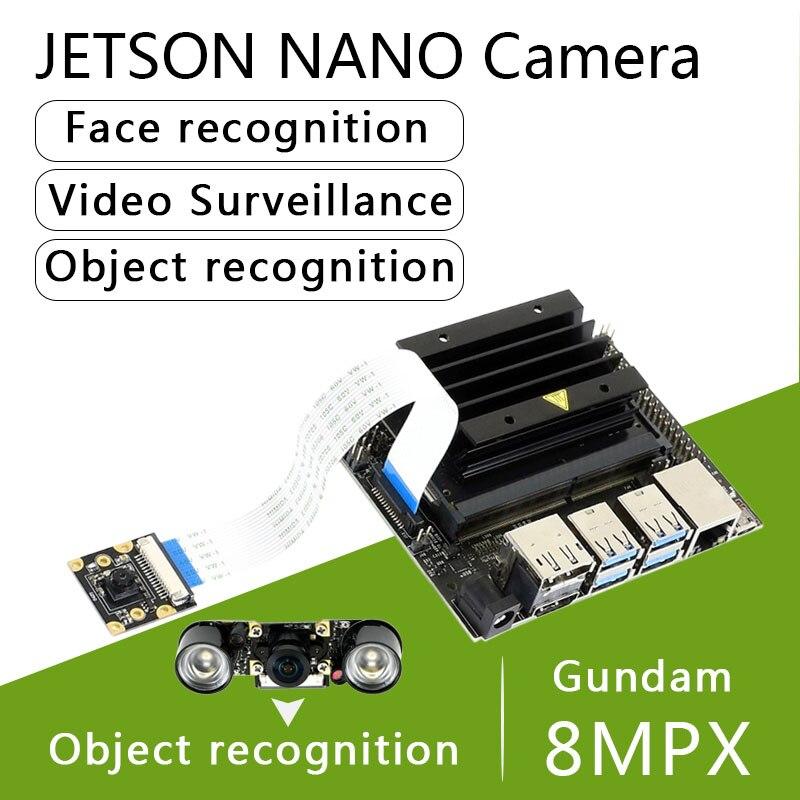 Nvidia Jetson Nano Camera IMX219 77/120/160/200° FOV 8MPX