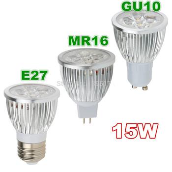 1 sztuk Super Bright 15W 12W 9W GU10 LED żarówka światło punktowe lampa 110V 220V ściemniania GU10 GU5 3 MR16 wpuszczone oświetlenie ciepły zimny biały tanie i dobre opinie THEBSE CN (pochodzenie) Ciepły biały (2700-3500 k) 3 w wysokiej mocy Salon 220V 12V 500-999 Lumenów W kształcie litery u
