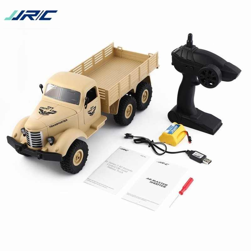 JJRC Q60 1:16 2.4G 6WD RC Off-Road Machine Drive Tracked Military RC Truck