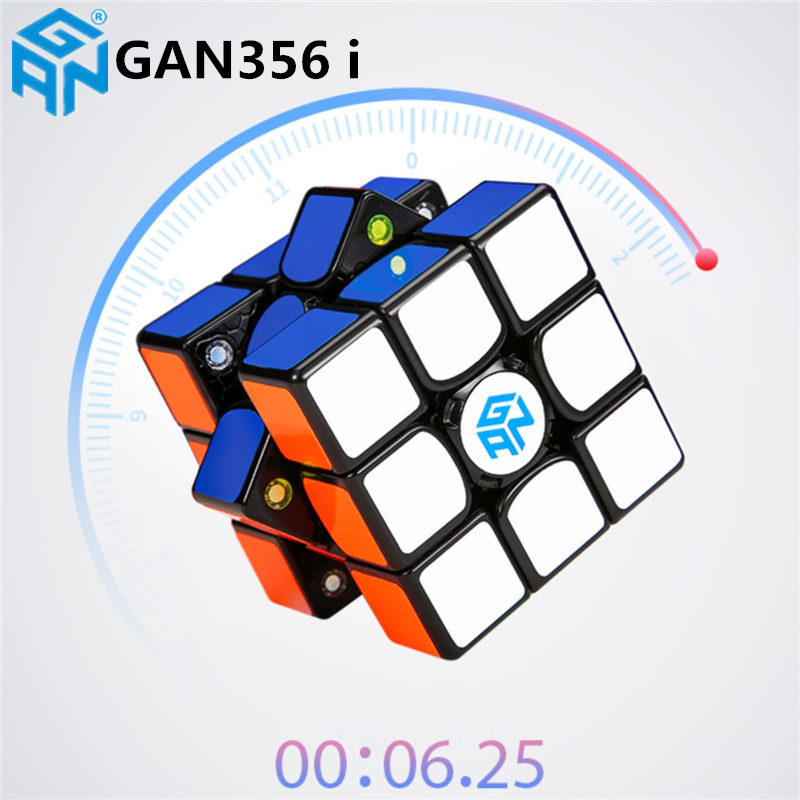 Original GAN356 I Speed Magic Cubes Professional Sticker Gan 356i Play Cube Online Competition Magnets Cube GAN 356i Cubo Magico