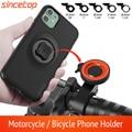 Держатель для телефона на мотоцикл для iPhone 11 Pro XsMax 8 плюс фотоаппаратов моментальной печати 7s 6 горный велосипед/велосипед мото держатель со...