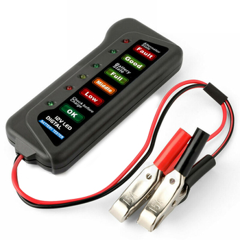 New LED 12V Car Battery Load Tester Alternator Battery Analyzer Auto Diagnostic Tool Brand New And High Quality image