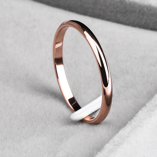 Retro Stainless Steel Rings For Women Men Titanium Ring Korean Style Dating Couple Rings Jewellry Simple Fashion Jewelry R830 2