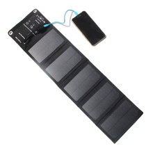 цена на 10W Solar Panel Folding Waterproof Solar Cells Charger 5V 2A USB Output Devices Portable Solar Panel Charger for Outdoor Camping