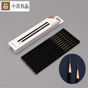 Image 1 - 10 قطعة/المجموعة Youpin Kaco الفرح Yuehui قلم رصاص HB خشبية أقلام أسود مسدس للرسم والكتابة المدرسة مكتب قلم الكتابة