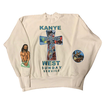 2019FW Kanye West Jesus Is King Limited Edition Sunday Service Sweatshirts Kanye West Jesus is King Pullover Sweatshirts