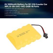 6v 2000 мА/ч Перезаряжаемые Батарея для rc 1/16 восхождение
