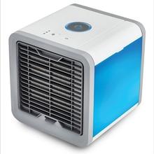 Fan Light Air-Cooling-Fan Personal-Space Mini Portable USB 7-Colors 3-Gear Dropship
