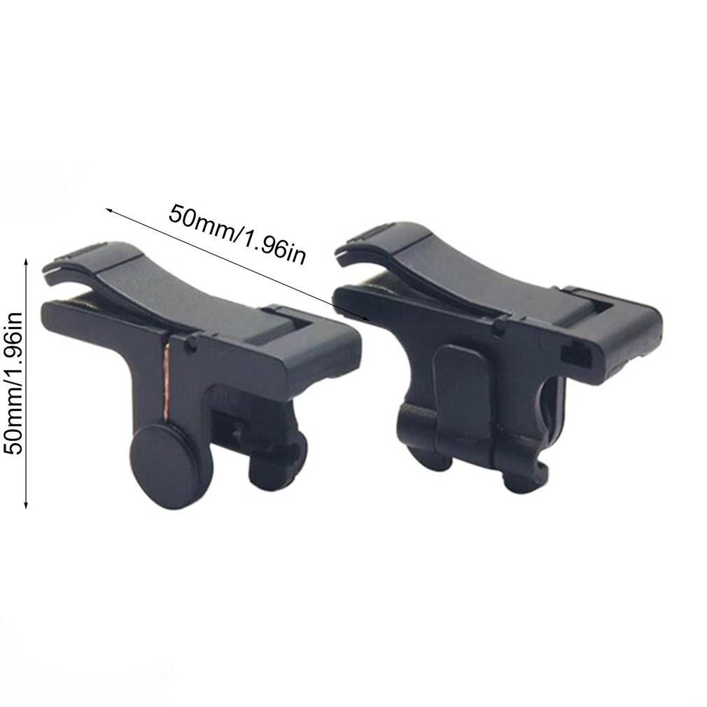 Купить с кэшбэком 2pcs Mobile Phone game trigger L1R1 trigger controller for PUBG knives out of survival rules Shooter Fire Button controller