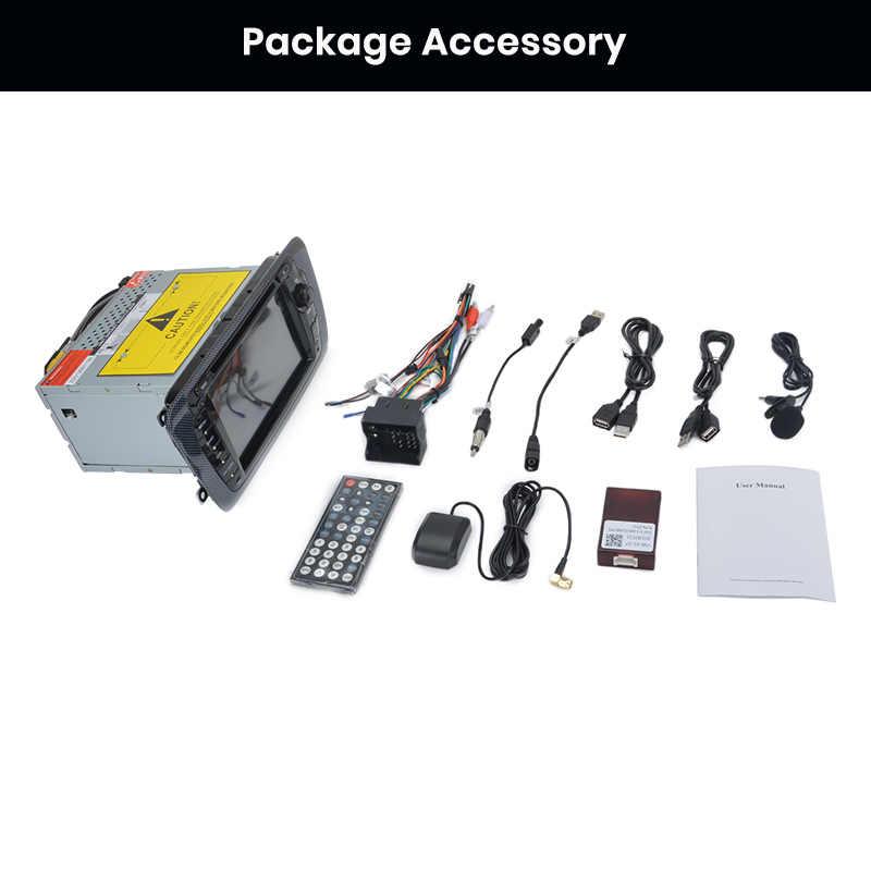 Junsun 2 din Car Radio reproductor de dvd de coche para asiento Ibiza 2009, 2010, 2011, 2012, 2013 Android 9,0 GPS de navegación 4 + 64GB opcional