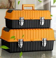 Caja Sellada de plástico  equipo de seguridad  maleta a prueba de explosiones  caja de herramientas a prueba de colisión  cuatro señales de espuma de color  herramienta anticolisión b
